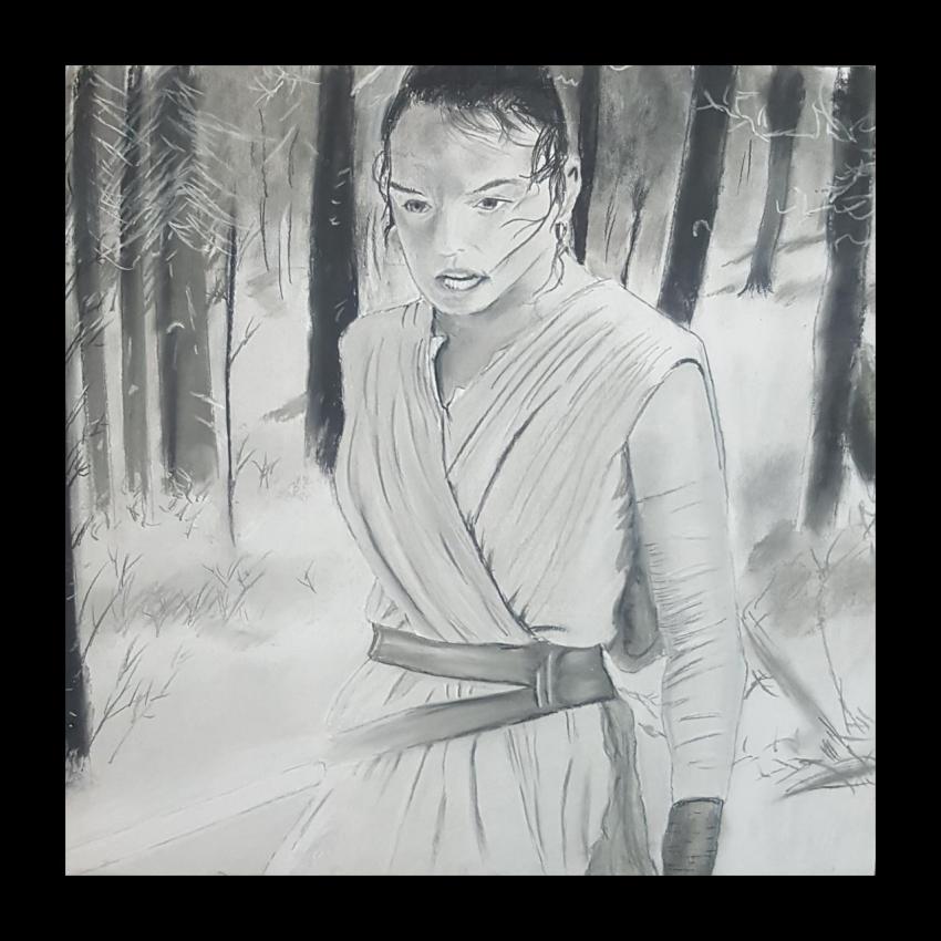 Daisy Ridley by Varoh